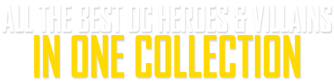 DC Heroes & Villains Collection In One